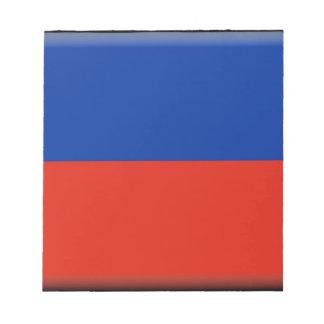 Haiti Flag Notepad