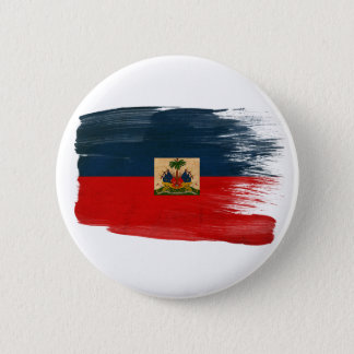 Haiti Flag Pinback Button