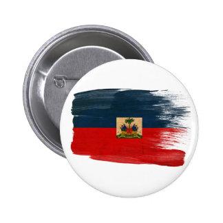 Haiti Flag Pinback Button