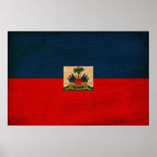 Haiti Flag Print