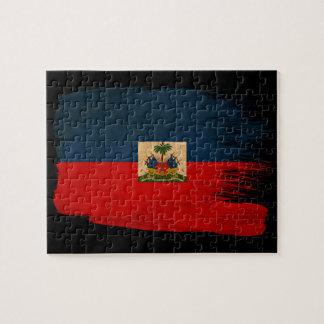 Haiti Flag Puzzles
