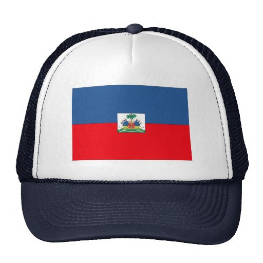 Haiti Flag Trucker Hat