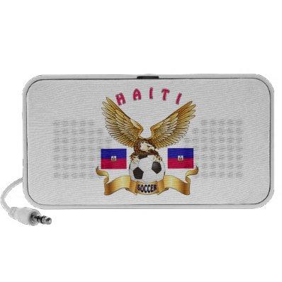 Haiti Football Designs Laptop Speakers