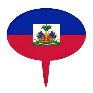 Haiti – Haitian Flag Cake Topper