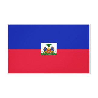 Haiti – Haitian Flag Canvas Print