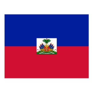 Haiti – Haitian Flag Postcard