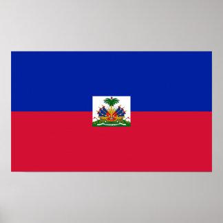 Haiti – Haitian Flag Poster