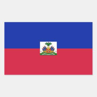 Haiti/Haitian Flag Rectangular Sticker