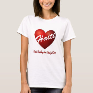 Haiti Heart Earthquake Relief T-Shirt