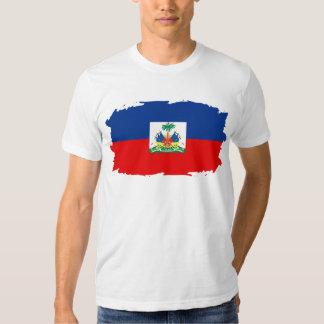 Haití (hecho andrajos) playera