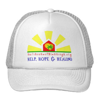 Haiti House of Blessings Ball Cap Trucker Hat
