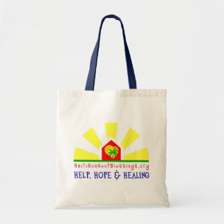 Haiti House of Blessings Canvas Tote Bag