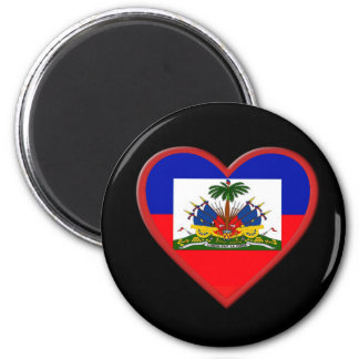 Haiti is In our hearts 2 Inch Round Magnet
