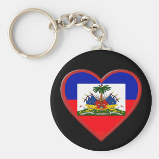 Haiti is In our hearts Basic Round Button Keychain