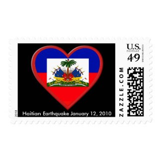 Haiti is In our hearts Postage Stamps