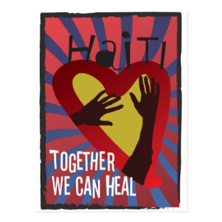 HAITÍ - juntos podemos curar Postales