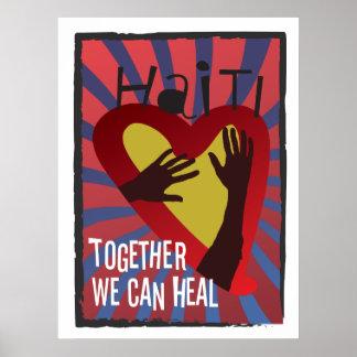 HAITÍ - juntos podemos curar Póster