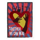 HAITÍ - juntos podemos curar Tarjeta Postal