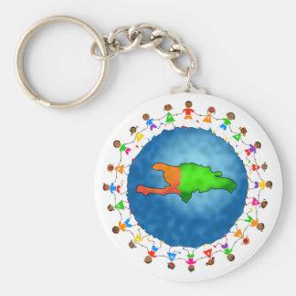 Haiti Kids Keychain