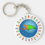 Haiti Kids Keychains