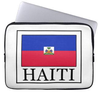 Haiti laptop sleeve
