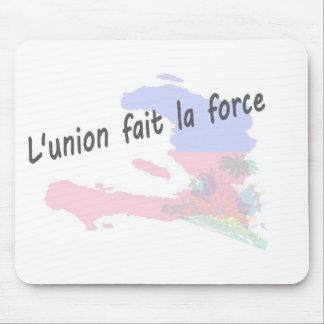 Haiti - L'union fait la force Mouse Pad