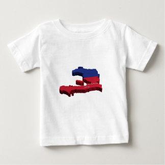 Haiti Map Baby T-Shirt