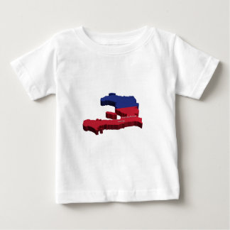 Haiti Map Tee Shirt