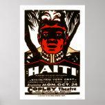 Haití Napoleon negro WPA 1938 Poster