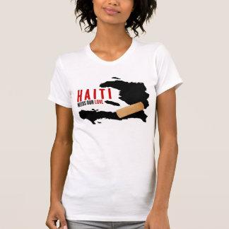 Haití necesita nuestro amor camisetas
