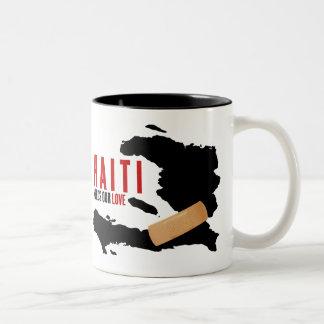 Haití necesita nuestro amor tazas de café
