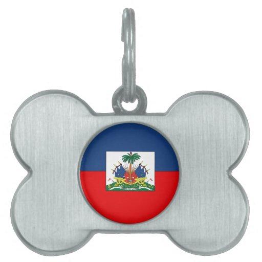 Haití Placas De Nombre De Mascota