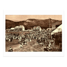Haiti, Port Au Prince Market Vintage Postcard at Zazzle