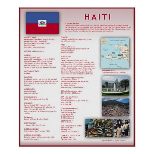Haiti Print