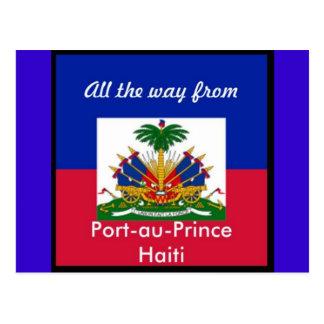 Haiti products postcard