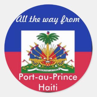 Haiti products sticker