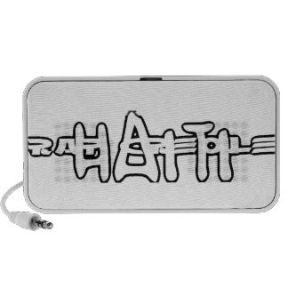 Haiti Rap Creole Speaker Bag