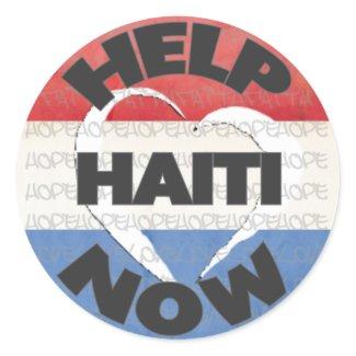 Haiti Relief Valentine Stickers sticker