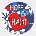 Haiti Relief Valentine Stickers
