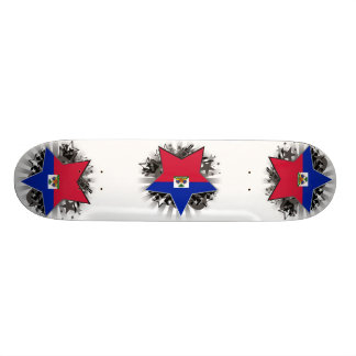 Haiti Star Skate Board Deck