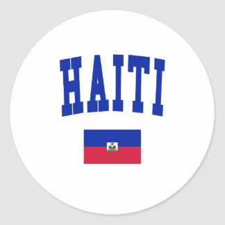 Haiti Style Round Stickers