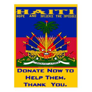 HAITI TODAY(Mojisola A Gbadamosi) Postcard