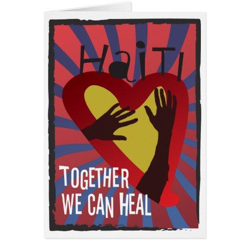 HAITI - Together We Can Heal Card