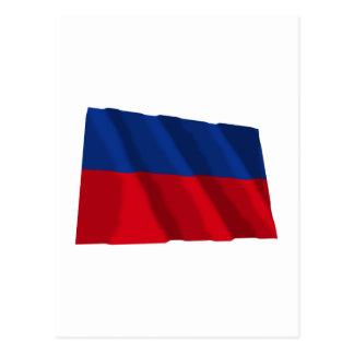 Haiti Waving Civil Flag Postcard