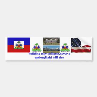 haiti will rise bumper stickers