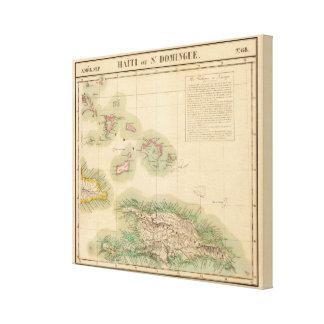 Haití y República Dominicana septiembre del 68 Impresiones En Lona Estiradas