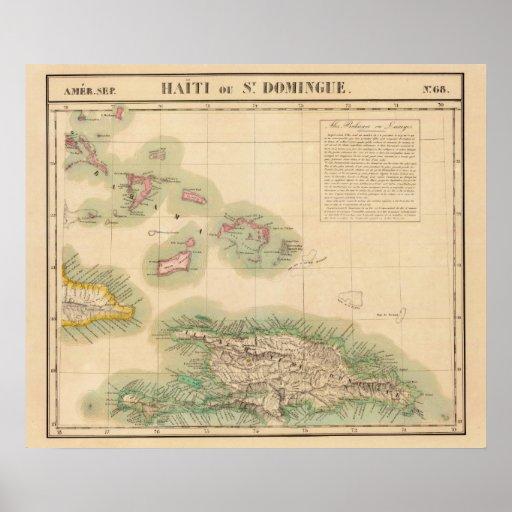 Haití y República Dominicana septiembre del 68 Posters