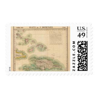 Haití y República Dominicana septiembre del 68 Timbre Postal