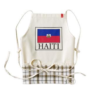 Haiti Zazzle HEART Apron