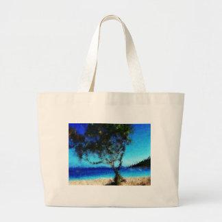 Haitia-tree-on-the-beach_Painting Bolsa
